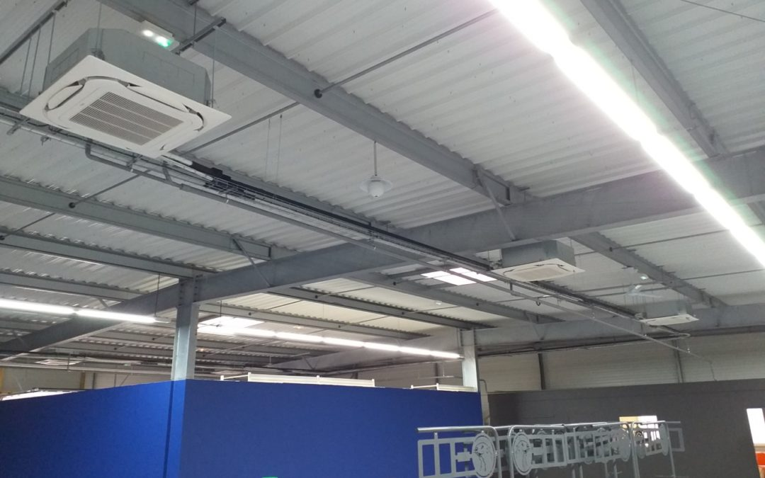 Installation climatisation